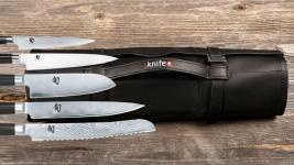 sknife Messertasche Kunstleder bestückt