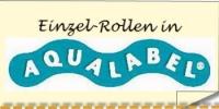 """Etiketten SA ohne haltbar bis """"Aqualabel"""""""